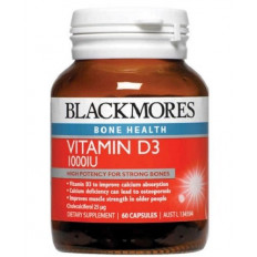Blackmores Vitamin D3 1000Iu  60 Caps