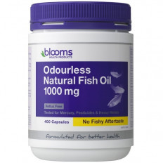 Blooms Odourless Fish Oil 1000mg 400 Caps