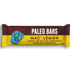 Blue Dinosaur Paleo Bars – Mac' Lemon 12x45g