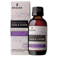 Brauer Baby & Child Pain & Fever 50mL
