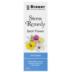Brauer Stress Remedy Bach Flower Oral Spray 20ml