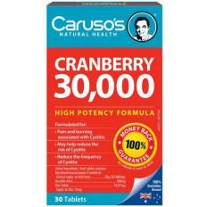 Caruso's Cranberry 30,000 30 Tabs