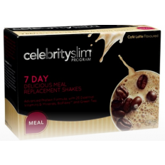 Celebrity Slim 7 Day Cafe Latte Pack