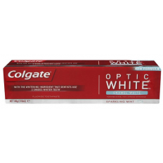 Colgate Optic White Toothpaste Sparkling Mint 140g