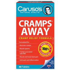 Caruso's Cramps Away 60 tabs