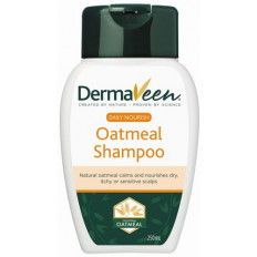 DermaVeen Daily Nourish Oatmeal Shampoo 250mL