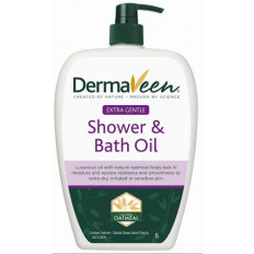 DermaVeen Extra Gentle Shower and Bath Oil 1L