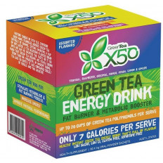 GreenTea X50 Assorted Flavours 60 Sachets