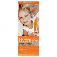 Hydralyte Ice Blocks Orange 16 Pack