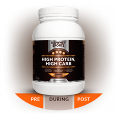 Isowhey Sports High Protein, High Carb Formula (Vanilla) 1.2 kg
