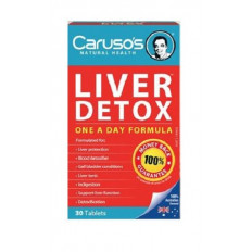 Caruso's Liver Clear Detox 30Tabs