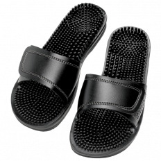 Maseur Invigorating Massage Sandal Black