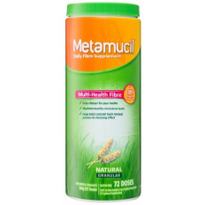Metamucil Fibre Supplement Natural Granular 72 Doses