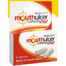 Mouth Ulcer 212 Capsules 8 Pack