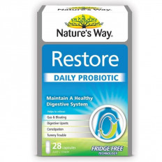 Nature's Way Digestive Health Restore Probiotic Cap X 28