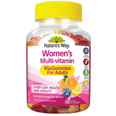 Nature's Way Women's Multi-Vitamin VitaGummies Adult 100