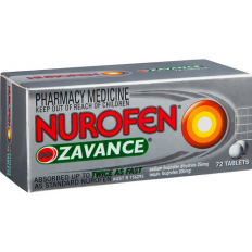 Nurofen Zavance Tablets x 72