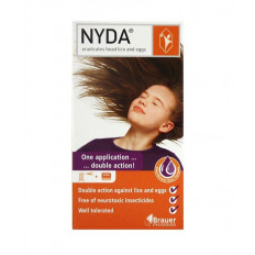 Brauer NYDA Head Lice Treatment 50ml