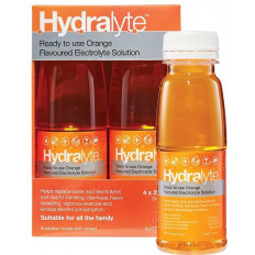 Hydralyte Ready to Use Orange 4x250 mL
