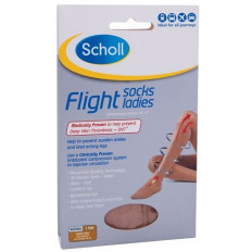 Scholl Flight Socks Ladies 1 Pair Aus 8-10
