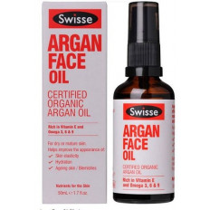 Swisse Certified Organic Argan Face Oil 50ML
