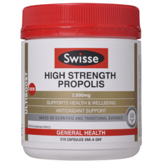 Swisse High Strength Propolis 210 Capsules