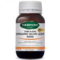 Thompsons One-A-Day Organic Olive Leaf 5000mg 60 capsuels