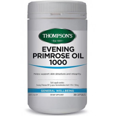 Thompsons Evening Primrose Oil 1000mg 300 capsules