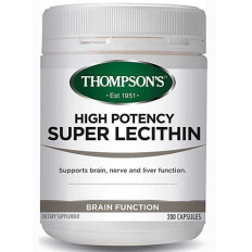 Thompsons High Potency Super Lecithin 200 capsules