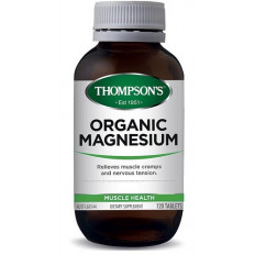 Thompsons Organic Magnesium 120 tablets