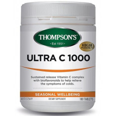Thompsons Ultra C 1000mg 180 tablets