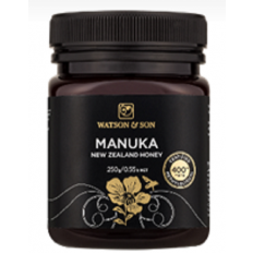 Watson & Son Manuka New Zealand Honey MGO 400+ 250G