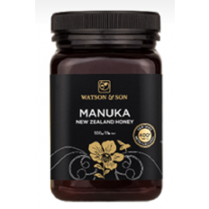 Watson & Son Manuka New Zealand Honey MGO 400+ 500G