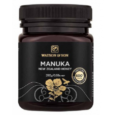 Watson & Son Manuka New Zealand Honey MGO 600+ 250G
