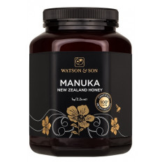 Watson & Son Manuka New Zealand Honey MGO 100+ 1KG