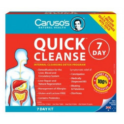 Caruso's Quick Cleanse 7 Day Detox Kit