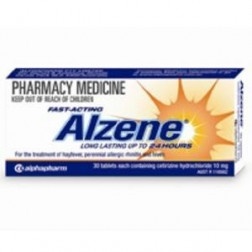 Alzene 10mg x30 tabs (Generic for Zyrtec )