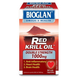 Bioglan Red Krill Oil Double Strength 1000mg 30 caps