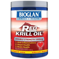 Bioglan Red Krill Oil Double Strength 1000mg 60 caps