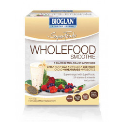 Bioglan Superfoods Wholefood Smoothie Vanilla 10 x 20g