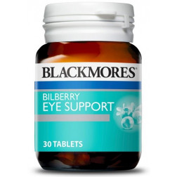 Blackmores Bilberry Eye Strain Relief x 30 Tabs
