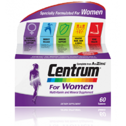 Centrum For Women 60 Tabs