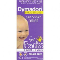 Dymadon 0-2Yr C/Free  Orange 60Ml