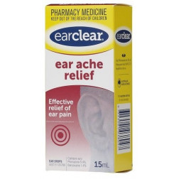 Ear Clear For Ear Ache Relief 15 ML