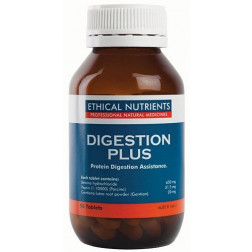 Ethical Nutrients Digestion Plus 90 Tabs. Protein digestion assistance.
