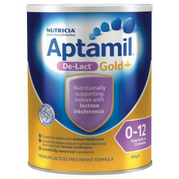 Aptamil Gold + De-Lact Infant Formula 900G