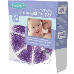 Lansinoh TheraPearl 3-in-1 Breast Therapy 2 Pack