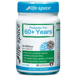 Life Space Broad Spectrum 60+ years Probiotic 60 capsules