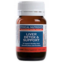 Ethical Nutrients Liver Detox and Support Caps 30