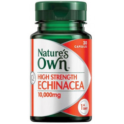 Nature's Own High Strength Echinacea 10,000mg - 30 Capsules
